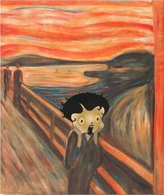 the scream tribute to Munch Painting German Expressionism Art, Expressionist Artists, Scream Art, Oil On Canvas, Canvas Art, Muse Art, Fantasy Paintings, Van Gogh, Cool Art