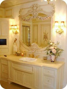 Dreamy Powder Room