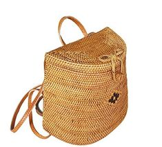 Shop a great selection of Rattan Nation - Woven Rattan Backpack Bag, Basket Bag. Find new offer and Similar products for Rattan Nation - Woven Rattan Backpack Bag, Basket Bag. Laptop Backpack, Black Backpack, Travel Backpack, Backpack Bags, Backpack Online, Unique Backpacks, Types Of Handbags, Basket Bag, Online Bags
