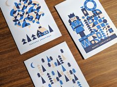 Behance is the world's largest creative network for showcasing and discovering creative work Merry Christmas Card, Holiday Cards, Adobe Illustrator, Videos, Behance, Branding, Seasons, Creative, Projects