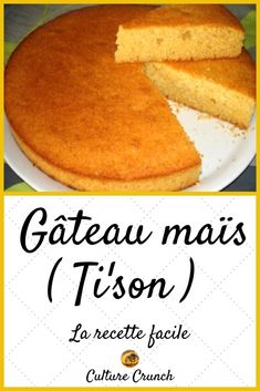 Cake Recipes, Dessert Recipes, Corn Cakes, French Food, Holiday Recipes, Biscuits, Bakery, Sweet Treats, French Tips