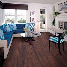 Kronotex 4.96-in x 50.8-in Raven Ridge Paris Oak Beveled Edge Laminate Flooring | Lowe's Canada