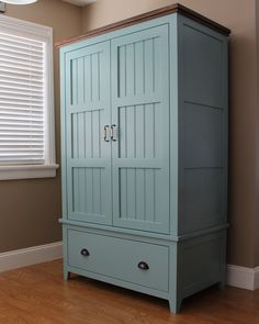 French County Wardrobe | Do It Yourself Home Projects from Ana White