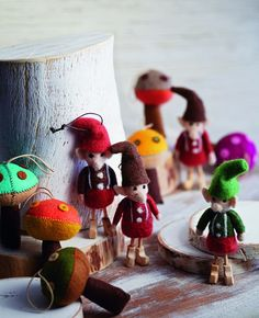 Hand-stitched wool felt and hand-carved wooden details give each of our quirky Wooly Elf Ornament from Roost a distinct charm. Happiest when looking over a mountain of presents, these elves are sure to spread a little cheer during your holiday season. These ornaments are sold individually and are also available in a set of 3 assorted styles. $ 10.00 - $ 30.00