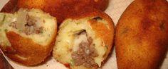 Copie a Bolinho de mandioca com carne moída - Receitas Supreme