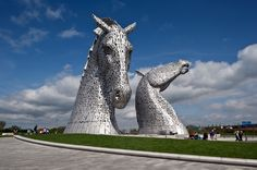 The Kelpies: Equine Sculptures by Andy Scott | Inspiration Grid | Design Inspiration