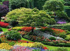 My garden is my most beautiful masterpiece