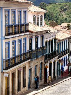 Ouro Preto , Minas Gerais, Brazil.