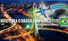 Envios para o Brasil de cigarros eletrônicos de qualidade com preços atacado e varejo