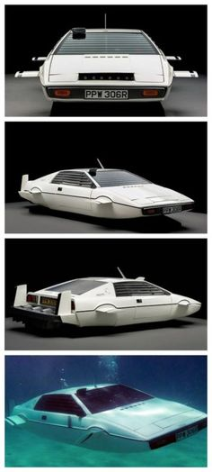 Wow! The James Bond Lotus Esprit 'Submarine Car' found in New York. Never guess how much this sold for? Click to find out.