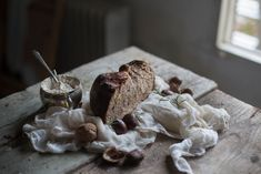 Tuscan Chestnut, Rosemary  & Walnut Bread | Hortus Natural Cooking