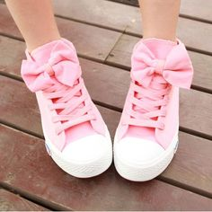 Pink Canvas Shoes Kawaii girls cute fashion shoes  Color:as picture  Material:Rubber,Canva  Size:US 5,US 6,US 7,US 8,US 9 visiting store: http://www.storenvy.com/stores/188265-cute-kawaii find more amazing cute fashion things, some suit for you!