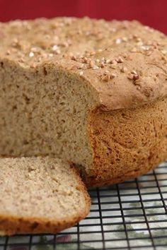 Gluten-Free Brown Honey Bread from Gluten Free Blog.  A Bountiful Bread Basket:  Top 20 Gluten-Free Bread Recipes