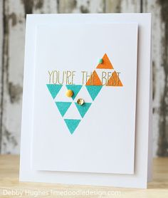 Debby Hughes from the Trendy Triangles Challenge in the Moxie Fab World.