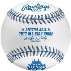 2012 MLB Official All-Star Game Baseball from Kansas City