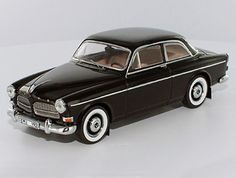 Volvo 130 Amazon (1965) Diecast Model Car by Premium X PRD230 This Volvo 130 Amazon (1965) Diecast Model Car is Black and features working wheels. It is made by Premium X and is 1:43 scale (approx. 10cm / 3.9in long). Volvo Models, Volvo Amazon, Diecast Model Cars, Scale Models, Tin, Classic Cars, Wheels, Street, Vehicles