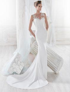 Moda sposa 2018 - Collezione NICOLE.  NIAB18048. Abito da sposa Nicole.