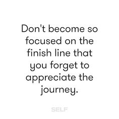 You'll never have this moment again, savor it! #TeamSELF #motivation