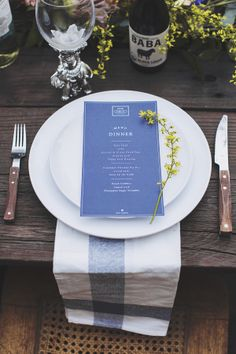 """Summer is all about the ease of a backyard get together, so why should a summer wedding be any different? This shoot is inspiration for the sweetest homegrown affair. A small gathering of loved ones, garden """"I Do's"""" and a dinnerat"""