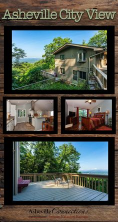 This mountain vacation home is just minutes from Asheville and all the gorgeous FALL LEAVES! With 3 bedrooms and fantastic views, you will love this pet-friendly option! Book now! September and October dates available!