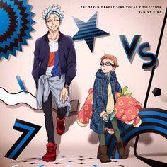 Nanatsu no Taizai / The seven deadly sins || Ban VS King 're album.