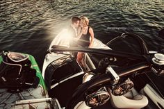 Engagement Pictures/Wakeboarding