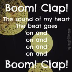 Charli XCX Sucker Lyrics - Boom Clap