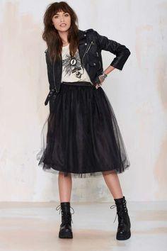 Nasty Gal So Meshed Up Midi Skirt - Skirts   Skirts