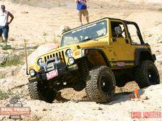Real Truck Club Challenge 2006 - My 2000 Yellow Wrangler :)