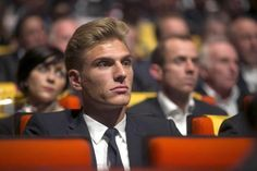 Marcel Kittel, winner of four stages at this year's Tour, in attendance for the presentation of the 2014 Tour de France route