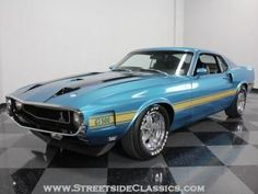 1970 Ford Mustang Shelby GT500 #mustangclassiccars #mustangvintagecars