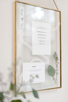 """I spied this crafty wedding invitation keepsake idea over on ctrl + curate, a blog by recent bride Cat, now married and dealing with all of those post-wedding """"what do I do with this"""" p…"""