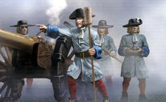 French artillery, War of the Spanish Succession.
