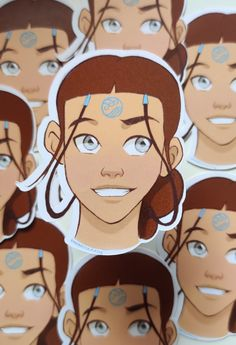 Katara Sticker up on my Etsy to buy. ✨