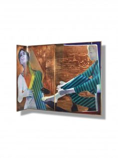 POL MARA (1920 - 1988) Persospective (1968) Öl auf Kupfer H 171 cm. B 200 cm. L 42 cm.   Provenienz: Carlo Monzino, Castagnola.  Ausgestellt: 34. Biennale Internationale d'Arte di Venezia, 1968 Basel, Biennale, 1920, Modern, Contemporary Art, Painting, Contemporary Artwork, Copper, Auction