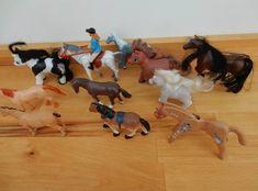 Piebald foal, Little Lucky chestnut foal and dapple grey magazine pony