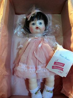 my favorite doll...the face is like no other...just love them MADAME ALEXANDER SWEET TEARS