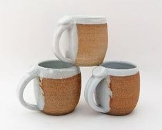 Handmade Mug  Pottery Mug  Ceramic Mug  by SawyerCeramics on Etsy, $15.00 by Claudia Abagge Colnaghi