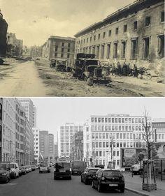 Berlin- (Centro de Berlín) Apoyado con imágenes de la batalla de Berlín de 1945, realizadas entonces por el fotógrafo soviético Georgi Samsonov, su colega Fabrizio Bensch ahora muestra una serie de fotos del antes y el ahora de la capital alemana, informa 'Daily Mail'.