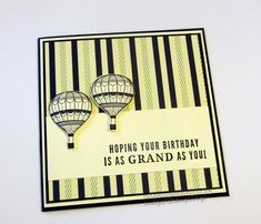 Twinks Stamping | Stampin' Up! Demonstrator: Truly Tailored Happy Birthday