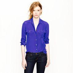 Blythe blouse in silk. Love
