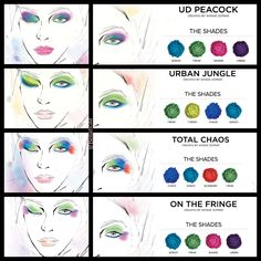 Ideas nail art design step by step urban decay for 2019 Eye Makeup Designs, Eye Makeup Tips, Eyeshadow Makeup, Beauty Makeup, Makeup Ideas, Eyeshadows, Beauty Tips, Electric Palette Looks, Urban Decay Electric Palette