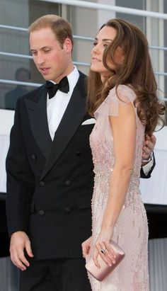 The Duke and Duchess of Cambridge.  I love Duchess Kate. She's glam but also the girl next door.