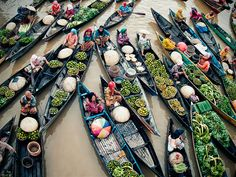 Activited Lok Baintan, Floating Market http://500px.com/photo/10471913?from=popular