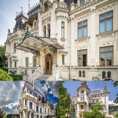 Pe strada Ştirbei Vodă, chiar lângă Parcul Cişmigiu, găsim Palatul Kretzulescu, una dintre cele mai frumoase bijuterii arhitecturale ale Bucureștiului. Construit în stil renascentist francez de către arhitectul Petre Antonescu, palatul poarta câteva dintre ideile inovatoare ale lui Ion Mincu. Palatul a fost proprietatea familiei Creţulescu timp de secole, mai precis, încă de la domnia lui Constantin Brâncoveanu până în secolul al XX-lea. Romania Travel, Beautiful Stories, Bucharest, Mansions, House Styles, Home Decor, Park, Decoration Home, Room Decor