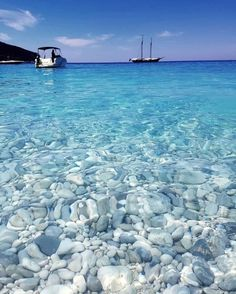 Look at these clear waters in Ithaca, Greece! : Look at these clear waters in Ithaca, Greece! Dream Vacations, Vacation Spots, Vacation Days, Places To Travel, Places To See, Travel Destinations, Beautiful World, Beautiful Places, Wonderful Places