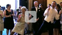 This is not an ordinary mother/son wedding dance. It is great to see a mother and her son have such a loving relationship (and we now know where he gets his dance moves!).