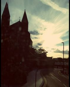 HE will be there  www.couchflyer.com #sunset #silouette #church #london #croydon