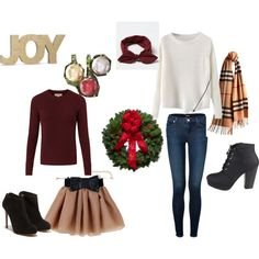 """Christmas Outfits"" by m-isa-bell on Polyvore"