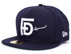 50 DUPPIES x NEW ERA「FD」59Fifty Fitted Baseball Cap